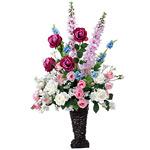 【送料無料】マリポーサ (造花) 高さ89cm 光触媒 (305A200)