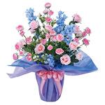 【送料無料】セントローズ (造花) 高さ63cm 光触媒 (317A100)