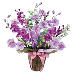 ツインコチョウラン (造花) 高さ60cm 光触媒 (319A70)