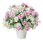 プチエンジェル (造花) 高さ21cm 光触媒機能付 (339A25)