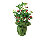 サクランボ (人工観葉植物) 高さ63cm 光触媒 (432A50)