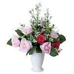ミサキローズ (造花) 高さ33cm 光触媒 (478A50)