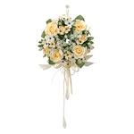 プチリースY (壁掛タイプ) (造花) 高さ15cm 光触媒 (489A25)