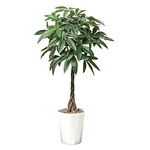 【送料無料】パキラ1.25 (人工観葉植物) 高さ125cm 光触媒機能付 (510E280)