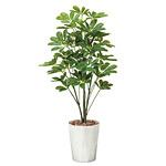 【送料無料】シェフレラ (人工観葉植物) 高さ90cm 光触媒 (514A150)