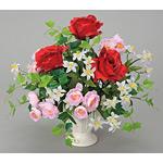 ベルシアローズ (造花) 高さ32cm 光触媒 (51A50)