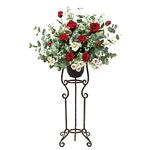 【送料無料】スカーレットスタンドM (造花) 高さ91cm 光触媒 (535A250)