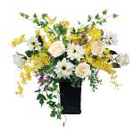 【送料無料】ツインソフトローズ (造花) 高さ52cm 光触媒 (538A120)