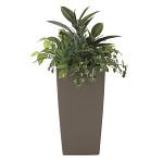 【送料無料】アート植栽L (人工観葉植物) 高さ90cm 光触媒 (600E380)