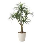 【送料無料】ユッカ90 (人工観葉植物) 高さ90cm 光触媒 (622A140)