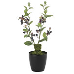 ブルーベリーベア (人工観葉植物) 高さ44cm 光触媒 (626A40)