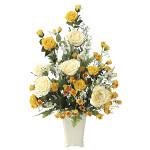 【送料無料】レーシーレディ (壁掛タイプ) (造花) 高さ67cm 光触媒 (667A120)