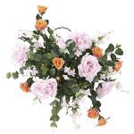 【送料無料】壁掛エンジェル (壁掛タイプ) (造花) 高さ58cm 光触媒 (707A100)