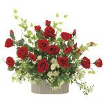 【送料無料】ロイヤルパリス (壁掛タイプ) (造花) 高さ45cm 光触媒 (745A150)