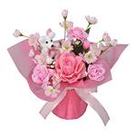 クレアピンク (造花) 高さ29cm 光触媒 (82A30)