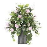 【送料無料】パリスピンク (造花) 高さ63cm 光触媒 (837A220)