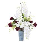 【送料無料】ロワイヤル (造花) 高さ80cm 光触媒 (838A200)