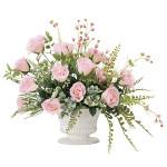 【送料無料】スイートローラ (壁掛タイプ) (造花) 高さ40cm 光触媒 (840A100)