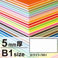 ニューカラーボード 5mm厚 B1 ホワイト