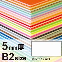 ニューカラーボード 5mm厚 B2 ホワイト