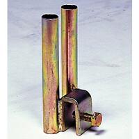 フェンス用H鋼金具A型 (383-27)