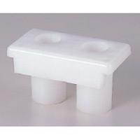 プラスチックフェンス用ジョイント (383-38)