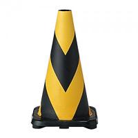 ラバーコーン 450mmH (黄色部反射式) (385-12A)