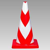 コーンウエイト付 反射コーン (白部反射) (385-21)