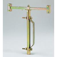 【在庫限り廃番】反射看板関連用品 ガードレール用看板スタンド (389-85)