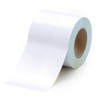 貼替え楽々 ユニフロアテープ 屋内床貼り用  再剥離タイプ 100mm幅 白 (863-021)