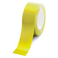 ローコスト屋内床貼テープ (セパ無) 50mm幅×33m巻 カラー:黄 (863-382A)