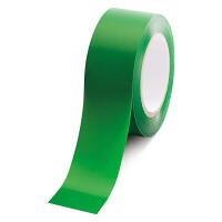 ローコスト屋内床貼テープ (セパ無) 50mm幅×33m巻 カラー:緑 (863-384A)