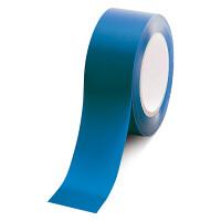 ローコスト屋内床貼テープ (セパ無) 50mm幅×33m巻 カラー:青 (863-385A)