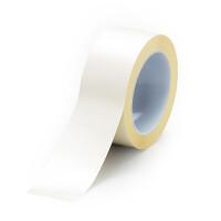 ユニフィットテープ 屋内床貼り用  強粘着タイプ 50mm幅 10m巻 白 (863-601)