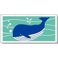 フェンスシート 安全水族館2 (930-14)