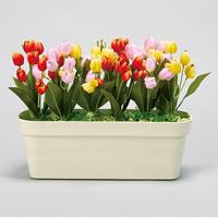 造花ミニプランター チューリップ (935-30B)