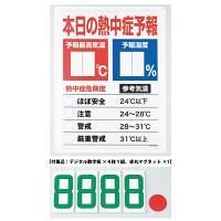 熱中症予報板 (HO-185)