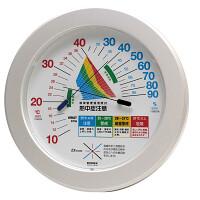 熱中症注意目安付温湿度計直径230mm