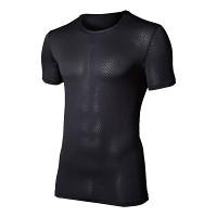 3Dファーストレイヤー半袖シャツ黒L L (HO-616-L)