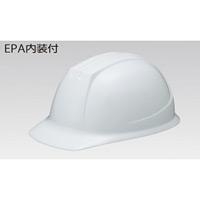 ヘルメット前ひさし型 PC樹脂製(ポリカーボネート) (飛・墜・電) カラー:ブルー (377-20BL)