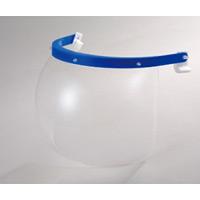 ヘルメット用 マスク対応防災面 仕様:MP型帽体用 (379-252-1)