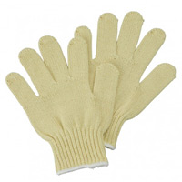 手袋 アラミド厚手軍手 サイズ:L (379-004-L)