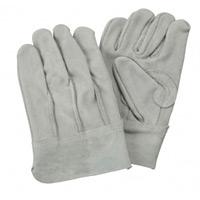 手袋 牛革外縫い手袋 サイズ:L (379-006-L)