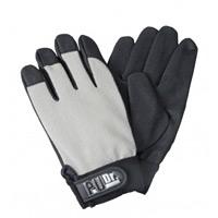 手袋 PUドクターグレー サイズ:L (379-3GY-L)