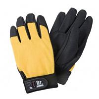 手袋 PUドクターイエロー サイズ:L (379-3Y-L)