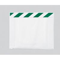 ポケットマグネット (マグネットタイプ) A4ヨコ用 (緑/白) 枚数:5枚入 (340-44)