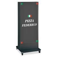 LED式電飾スタンド看板 ADO-920NT-LED-B ブラック 高さ1500mm