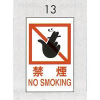 表示プレートH ピクトサイン エンビプレート 300×200mm 表示:禁煙 NO SMOKING (Hi500-13) (EHI50013)