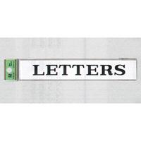 表示プレートH 室名札 アクリル 表示:LETTERS (レター) (UP318-7)
