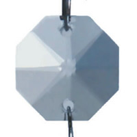 クリスタルガーランド E-1050/20角 クリア (53536CLR)